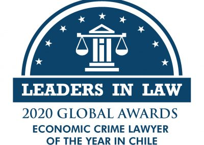 128-BLUE-ECONOMIC CRIME LAWYER OF THE YEAR IN CHILE