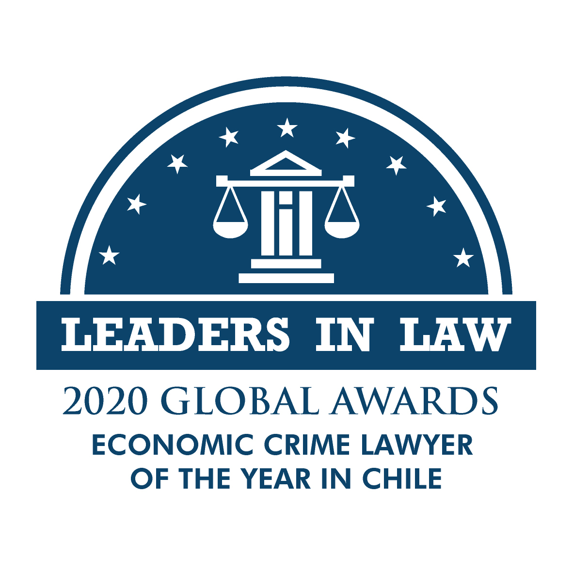 BLUE-ECONOMIC CRIME LAWYER OF THE YEAR IN CHILE