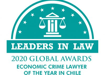 128-TEAL-ECONOMIC CRIME LAWYER OF THE YEAR IN CHILE