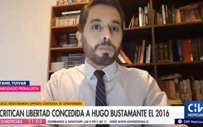 [CHV] El argumento que entregó la jueza en 2016 para entregarle la libertad a reos, entre ellos Hugo Bustamante